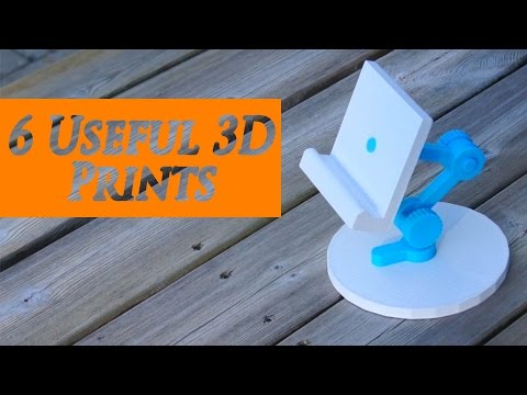 6 Useful 3D Prints (camera, drone and home items) - RCLifeOn
