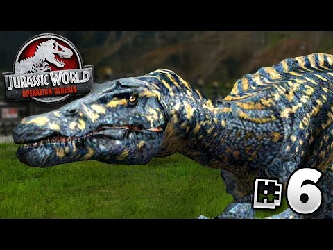 The Suchomimus! - Jurassic World Operation Genesis | Jurassic Month