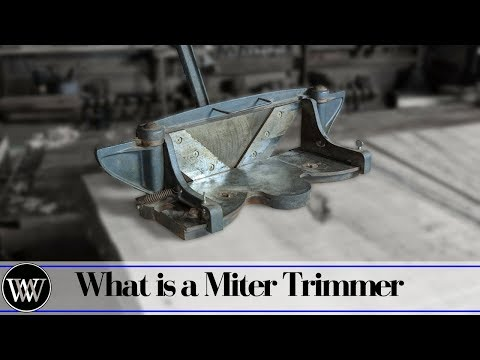 What is a Miter Trimmer or Miter Shear