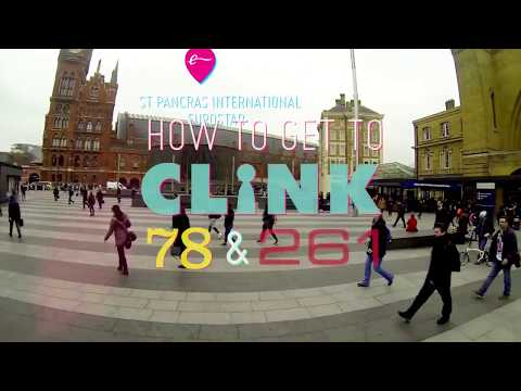 Getting to Clink78 and Clink261 from St Pancras and King's Cross Stations