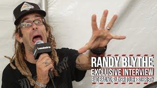 Randy Blythe on Bad Brains, Staying Sober, Slayer Tour + More