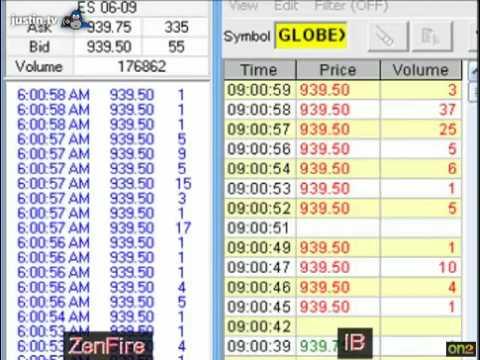 Interactive Brokers vs. ZenFire Data Feed