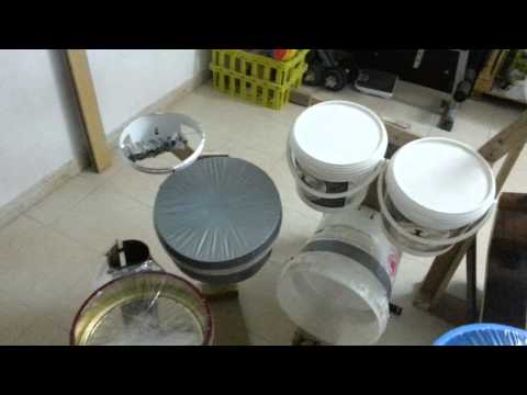 Home Made Drum Set by Jon part1