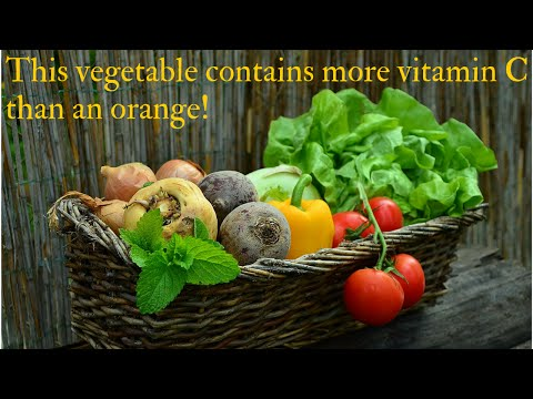 This vegetable has higher amounts of vitamin C than an orange!