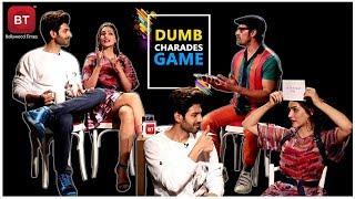Luka Chuppi Starcast Kartik Aaryan & Kriti Sanon Played Fun Filled Action-Packed Dumb Charades Round