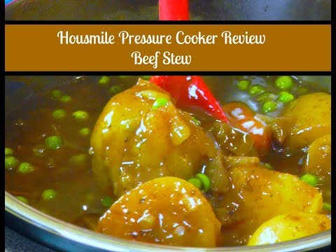 Pressure Cooker Beef Stew ~ Housmile Pressure Cooker Test & Review ~  Amy Learns to Cook