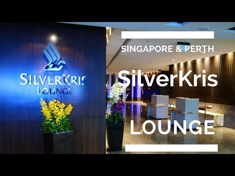 Singapore Airlines SilverKris Business Class Lounges: Changi Airport (T2 & T3) and Perth Airport