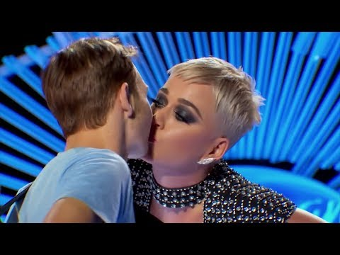 Katy Perry Receives Backlash For Giving 'American Idol' Contestant First Kiss
