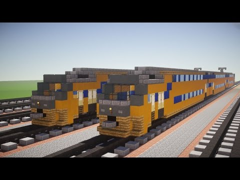 Minecraft Dutch NS VIRM Train Tutorial