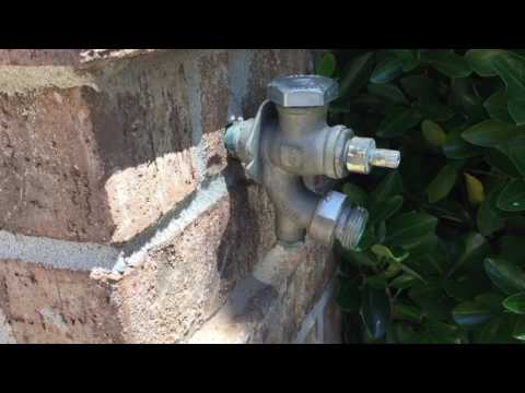 Fix Frost-Free Faucet that won't shut off