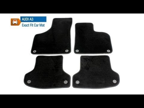 Audi A3 Luxury Tailored Car Mat Set From MicksGarage.com