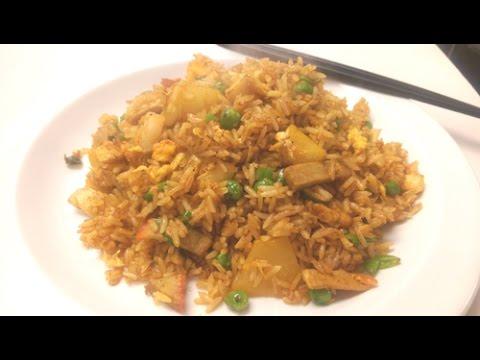 Singapore fried rice