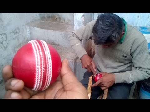 how to make cricket ball