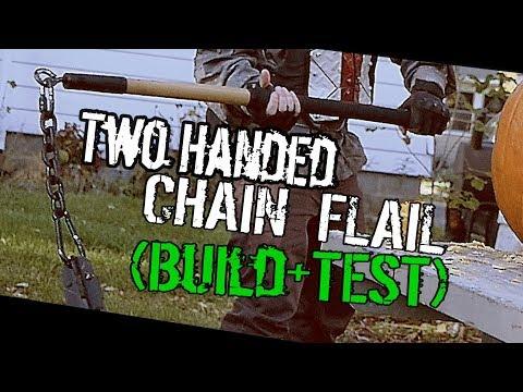 -DIY- Brutal FLAIL MAUL (Two-Handed Flail) +Destruction Test