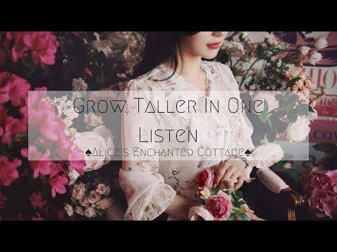 ♠Grow Taller In One Listen♠