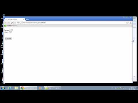 080   Objeto Window   Inner e Outer Width e Height, ScreenX e ScreenY