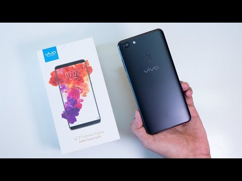 Vivo V7 Unboxing & Initial Impressions! Snapdragon 450 & 720p Display!