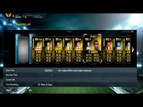 FIFA 14 Club Showcase Getting Ready For TOTS Episode 14