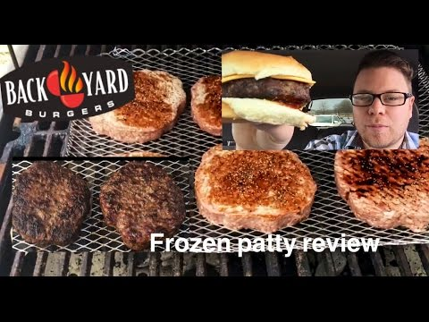 HOW TO GRILL FROZEN BACKYARD BURGERS | THE SHOWSTOPPER SHOWS