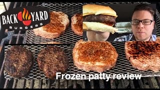 How To Grill Frozen Backyard Burgers