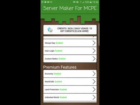 Server Maker For Minecraft PE [How to make your own MCPE Server]