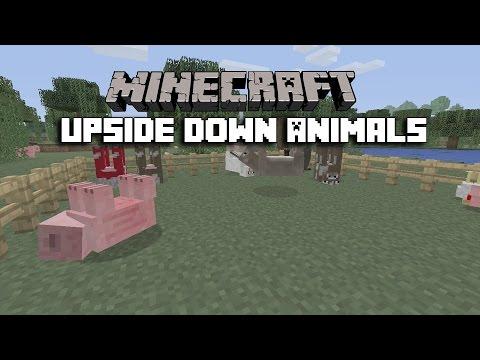 Minecraft: Xbox 360/Xbox One/PS3/PS4/PS VITA - Upside Down Animals Trick (Xbox & Playstation/TU31)