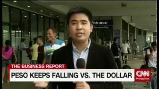 Peso Keeps Falling Vs The Dollar