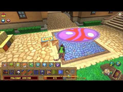 Wizard101 - Floating Carpet Glitch Tutorial!