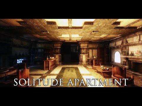 TES V - Skyrim Mods: Solitude Apartment