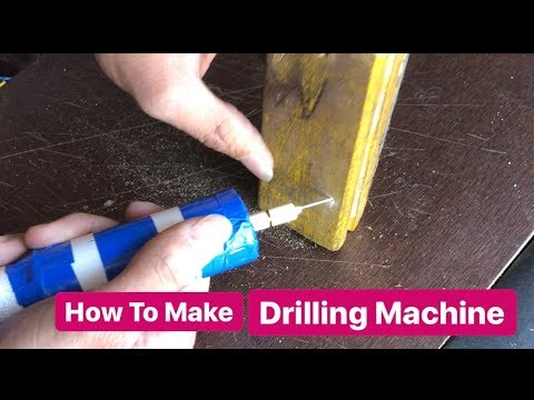 How to make Drill Machine at home
