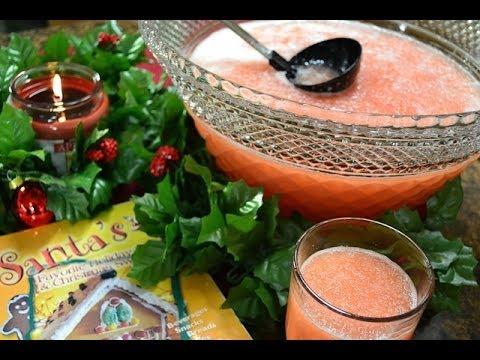 Slushy Fruit Punch Recipe for the Holidays | RadaCutlery.com