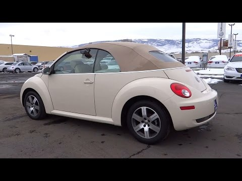 2006 VOLKSWAGEN NEW BEETLE CONVERTIBLE Reno, Carson City, Northern Nevada, Roseville, Sparks, NV 6M3