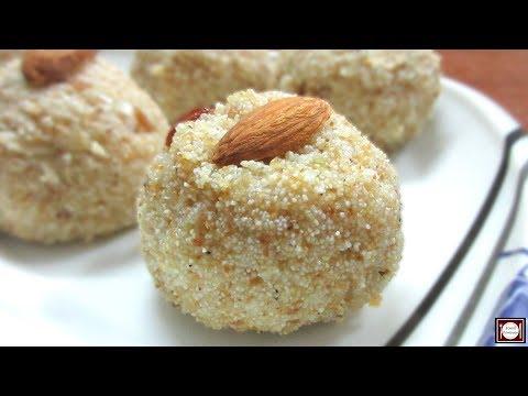 झटपट बनायें सूजी के लड्डू | Suji ke Ladoo | Rava Ladoo | Instant Suji Ladoo Recipe