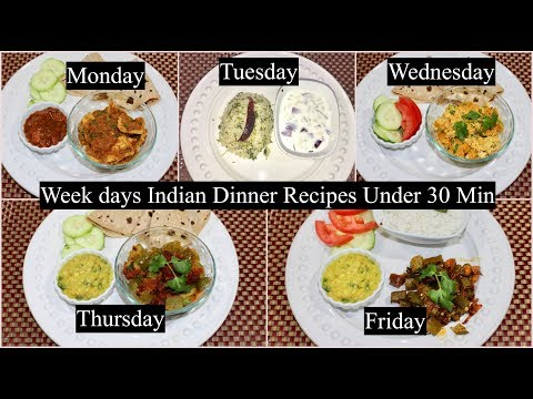 5 Indian Dinner Recipes Under 30 Minutes | Quick Dinner Ideas   | Simple Living Wise Thinking