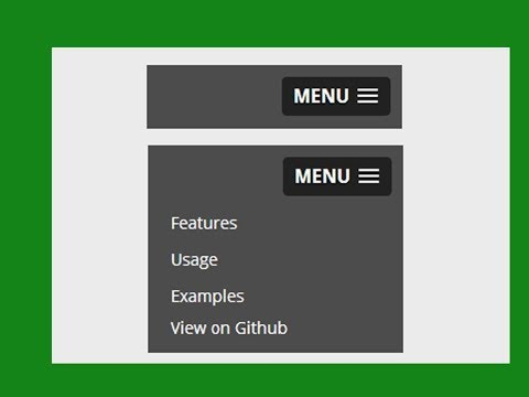 How to create responsive navigation bar?