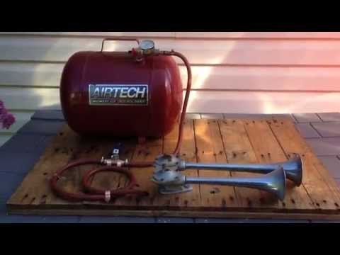 Vintage Hadley Air Horn test