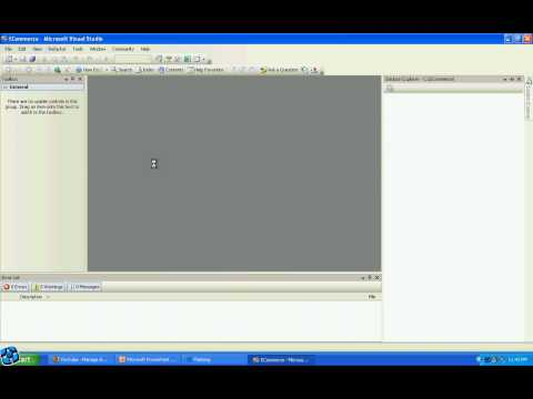 HOW TO START VISUAL STUDIO 2005 OR 2008