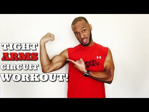 How To Get Lean and Toned Arms- How  to Lose Arm Fat FAST!
