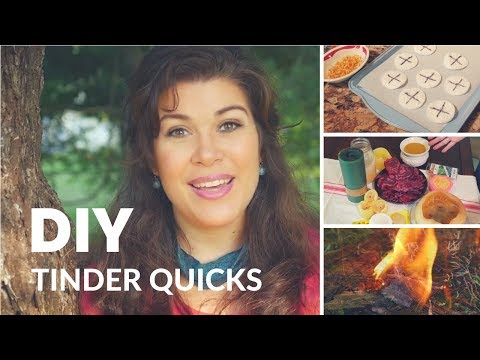 All about Tinder Quicks and How To Make Your Own! - DIY with PREPSTEADERS