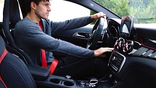 Mercedes GLA INTERIOR REVIEW AMG GLA 45 INTERIOR AMG Performance Studio INTERIOR 2017 CARJAM TV