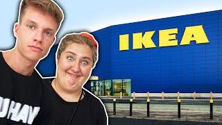 SANDY UND LUCA IM IKEA