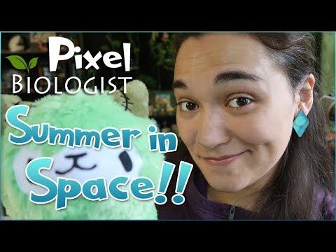 Vote for YOUR Summer in Space Adventures!! 🌿 Pixel Biology Updates