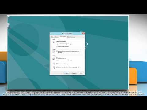 How to Change the Mouse Pointer Speed in Windows® 8