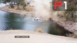 Ott Tänak massive CRASH - WRC Rally Mexico 2015