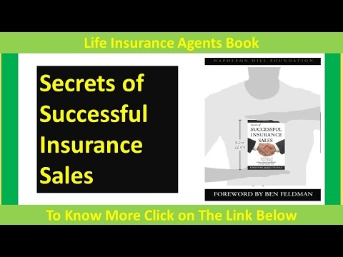 Secrets of Successful Insurance Sales | Life Insurance Agents Book