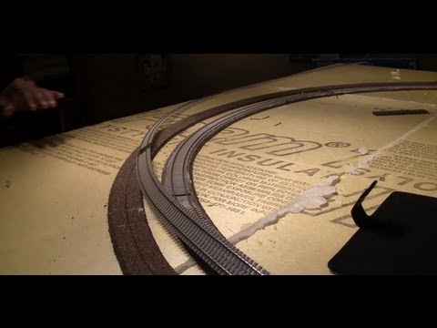Part 5 of How to Build your Layout from Start to Finish--Track Laying on Curves