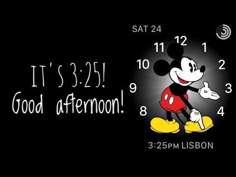How to activate Apple Watch Mickey Mouse face tap to speak