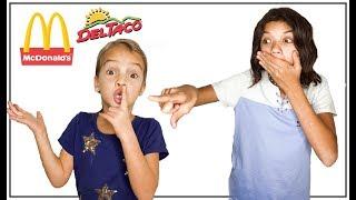 Download NO TALKING Fast Food Challenge! NO SPEAKING! Video