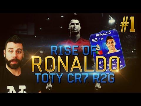 Rise of Ronaldo #1 - INTRO EPISODE!!! TOTY 99 Ronaldo RTG - FIFA 15 Ultimate Team