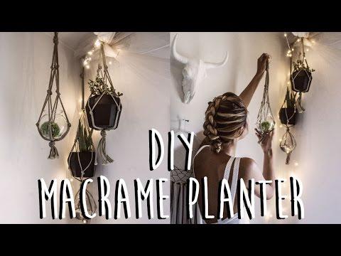 DIY: How To Make A Macrame Plant Hanger